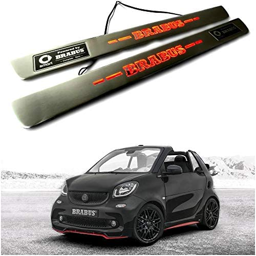 Smart FORTWO typ451 Entry Sills Paint Protection Film 3d Carbon 2030