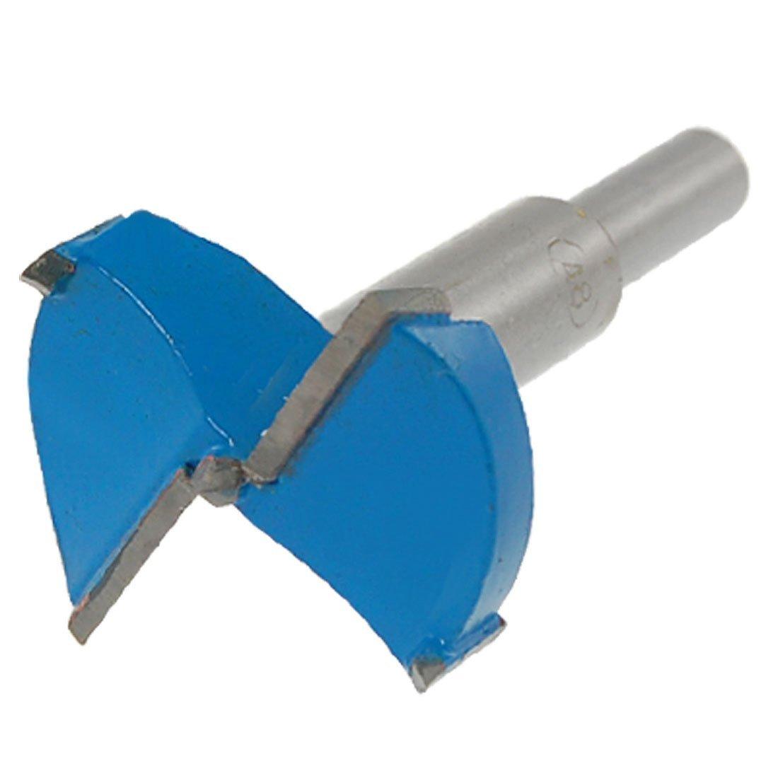 48 mm Di/ámetro de corte Bisagra Boring Broca Azul Gris