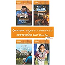 Harlequin Superromance September 2017 Box Set: Wrangling the Rancher\Montana Unbranded\Breakup in a Small Town\The Littlest Boss