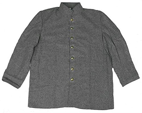 - Military Uniform Supply Civil War Reenactment Fatigue Sack Coat -CS Grey - 54