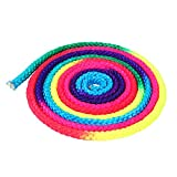 VGEBY Gymnastics Rope Rainbow Sports Training Rope Arts Competition Rope Nylon Jumping Rope