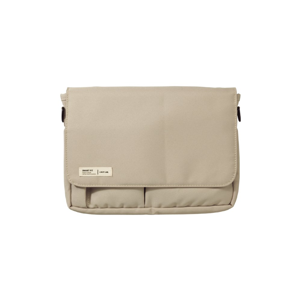 Lihit Lab Carrying Pouch, Beige, 6.7 x 9.4 Inches (A7575-16)