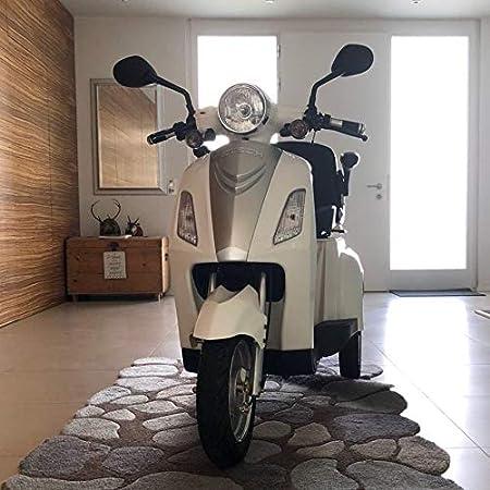 VELECO ZT15B - Triciclo eléctrico para Personas Mayores (homologación de la UE), Color Blanco