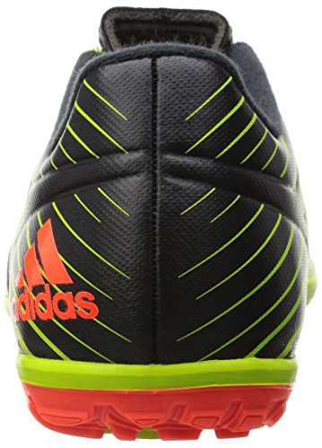 adidas Messi 15.3 TF J, Botas de Fútbol Unisex infantil Verde / Rojo / Negro (Seliso / Rojsol / Negbas)