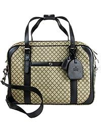 660c238c5ad Men s Briefcase Beige Ebony Diamante Black Leather Trim 267890 9769 · Gucci