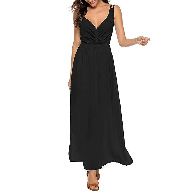 Amazon.com: DFHDSF vestido de cóctel para mujer con cintura ...