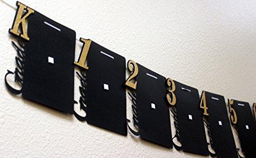 All About Details Graduation Photo Banner (Black & Gold)