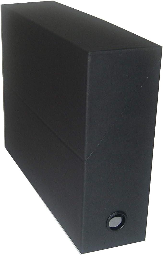 Esselte Archive Box - Archivador sin anillas, negro: Amazon.es: Oficina y papelería