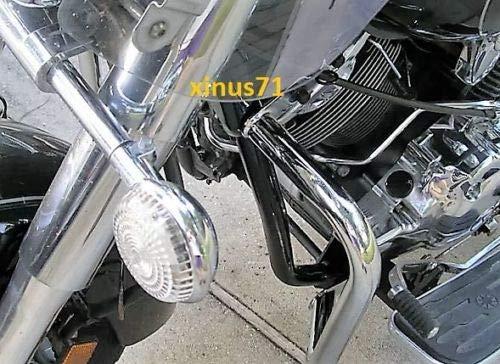 JMEI Engine Guard Highway Crash Bar 4 Yamaha Vstar 1100 Classic Custom Silverado 2pcs