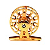 Smartcoco Ultraligh Aluminum Fly Fishing Former Ice Fishing Wheel Reel Spool Tackle Tool Diameter 44mm&55.3mm with 2 Colors Available