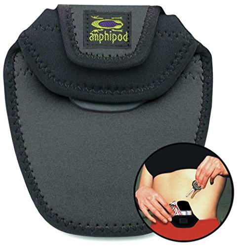 Amphipod iPod, cash, ID, Key Micropack LandSportlock on pouch by Grey/Black