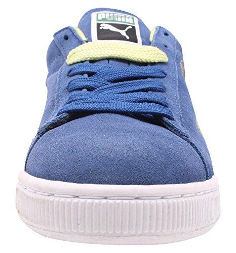 Suede 350734 Puma Blu verde Blue Sneaker Herren Classic zwddqRH