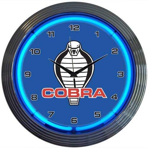Neonetics 8COBRA Ford Cobra Neon Clock (Ford Cobra Neon Clock)
