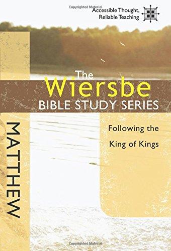 Wiersbe Bible Study Matthew Following