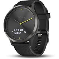 Garmin Vivomove HR Sport Hybrid Smartwatch (Black)