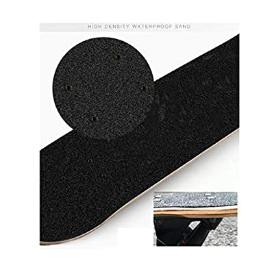 SHATONG Teens Beginner Student Professional Surfing Longboard Adult Tide Brand Four-Wheel Skateboard Youth Highway Sports Skateboard Straight Whole Board Dancing Deck (Color : B) : Sports & Outdoors