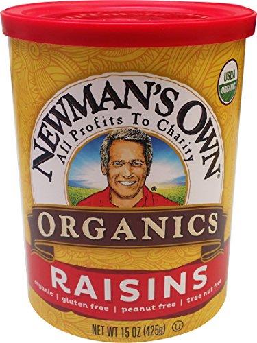 Newman's Own Organics Organic California Raisins, 15-Ounce Cans (Pack of - Raisins Organic