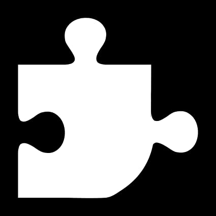 Amazon Com Wild Dingos Llc Puzzle Piece Style 1 136 1 Wall Decor