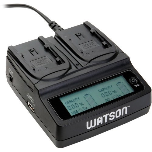 - Watson Duo LCD Charger for BP-800 Series Batteries(6 Pack)