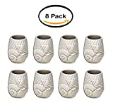 PACK OF 8 - Better Homes and Gardens Coastal Resin Tumbler