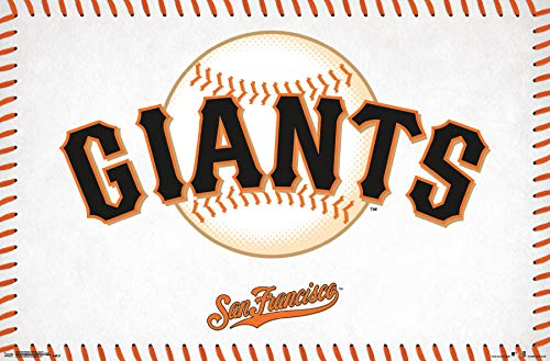 Trends International San Francisco Giants - Logo Wall Poster, 22.375