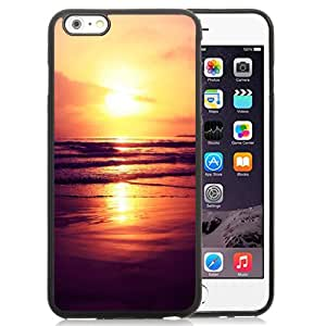 New Beautiful Custom Designed Cover Case For iPhone 6 Plus 5.5 Inch With Setting Sun Phone Case