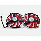 FD7010H12S DC 12V 0.35A NDB Cooler Fan Replacement For ATi Radeon Gigabyte HD7990 HD 7990 Graphics Video Card Cooling Fans (2 pcs)