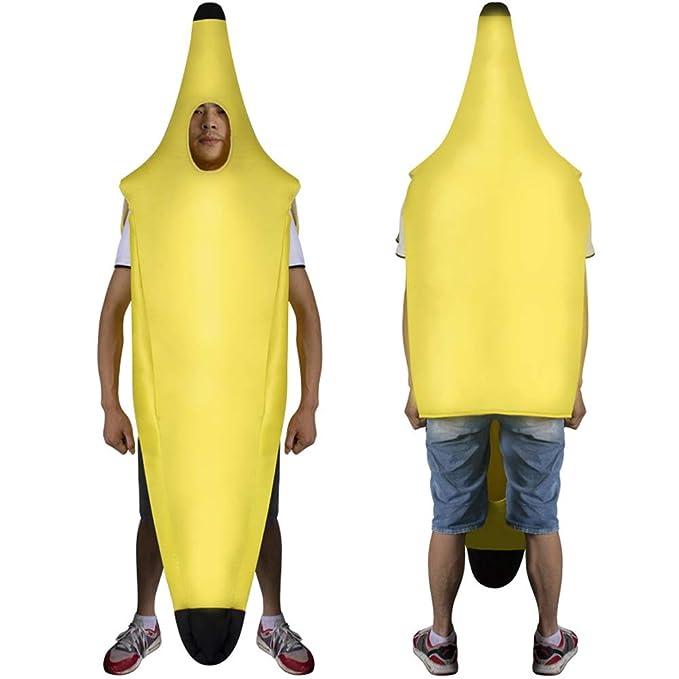 Zooarts - Disfraz de plátano para Adultos, Talla única: Amazon.es ...
