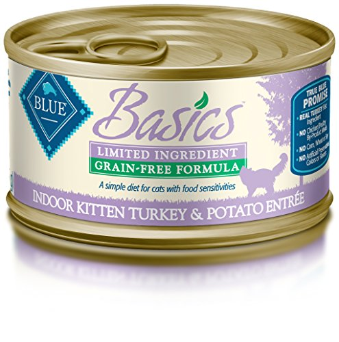 Blue Buffalo Basics Kitten Turkey & Potato Entree Wet Cat Fo