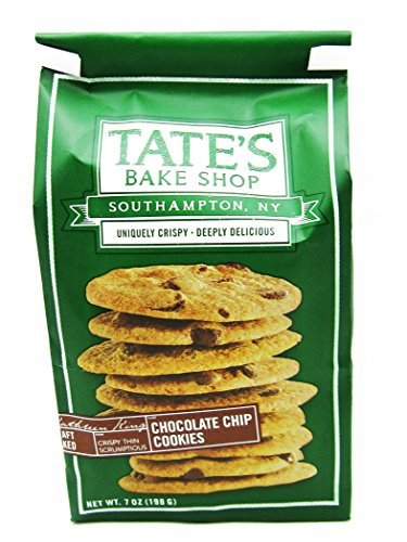 - Tate's Bake Shop All Natural Cookie, Chocolate Chip, 12 Count (Pack of 12)