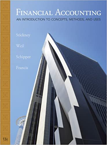 Student solutions manual for stickneyweilschipperfrancis student solutions manual for stickneyweilschipperfrancis financial accounting an introduction to concepts methods and uses 13th edition fandeluxe Gallery