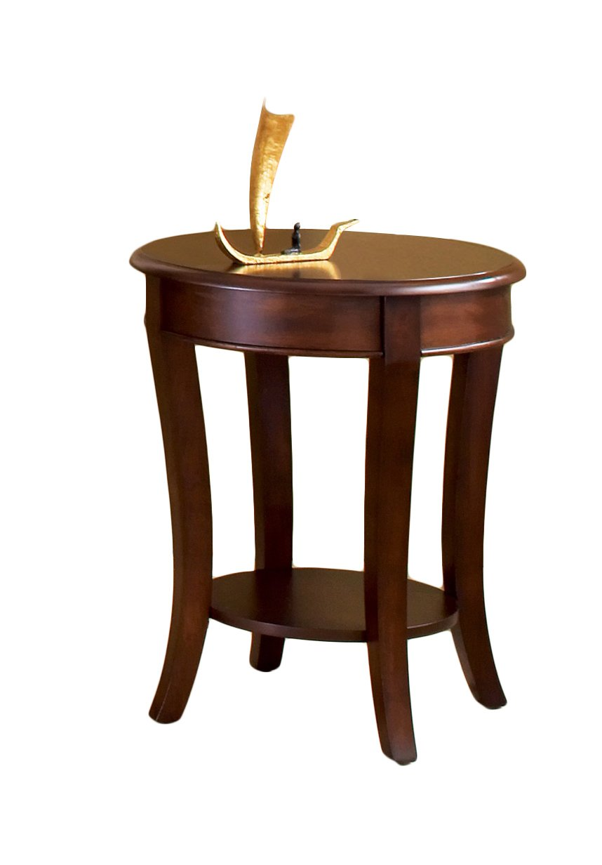 Amazon.com: Steve Silver Company Troy Round End Table: Kitchen U0026 Dining