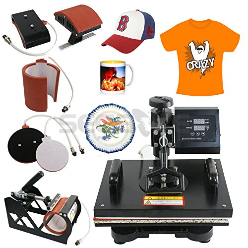 5 In 1 Digital Heat Press Machine Sublimation Printer TOP SELLING ITEM by Unknown