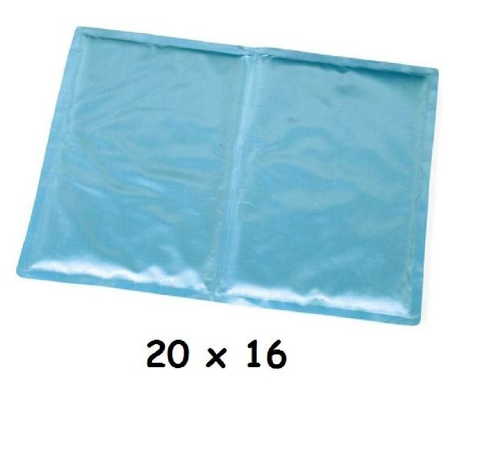 Cooling Mat For Dogs Solid Blue Available In Two Sizes For Indoor Or Outdoor Use