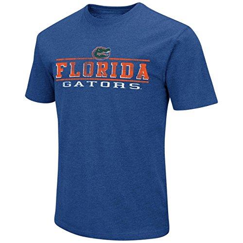 Vintage Sports Shirts - Colosseum Florida Gators Adult Soft Vintage Tailgate T-Shirt - Royal, Large