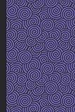 Sketchbook: Swirls (Purple) 6x9 - BLANK JOURNAL