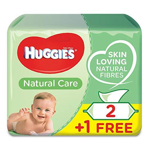 🥇 Toallitas Bebé Huggies Natural Care P3