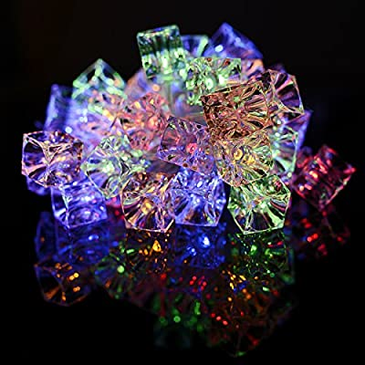 Xcellent Global Battery Powered String Lights Outdoor Lights for Gardens, Lawn, Patio, Weddings, Party, Home, Yard, Indoor etc