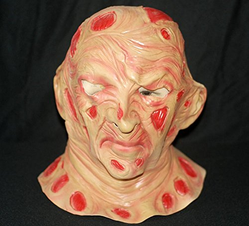 Freddy Krueger Costumes Girl (Gmasking Latex A Nightmare On Elm Street Freddy Krueger Full Head Mask)