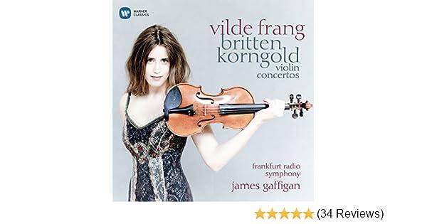 Vilde Frang Britten Korngold Violin Concertos Amazon Com Music