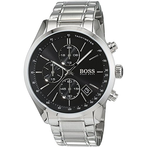 Hugo Boss GRAND PRIX 1513477 Mens Chronograph Classic - Boss Mens Watches