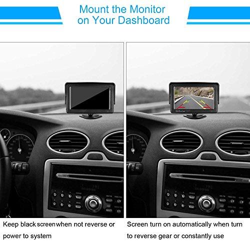 Leekooluu Backup Camera And Monitor Kit For Car Vehicle