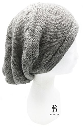 Custom Made Order - Handmade Pure Alpaca Slouchy Hat -Caroline by BARBERY Alpaca Accessories