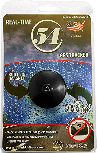 LandAirSea 54 GPS Tracker - USA Manufactured, Waterproof Magnet Mount. Full Global Coverage. 4G LTE Real-Time Tracking for Vehicle, Asset, Fleet, Elderly and extra. Subscription is needed.