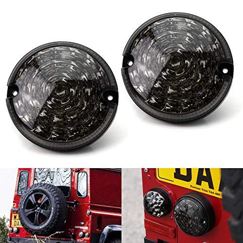 Style Smoked Lens Full LED Upgrade Kit For Land Rover Defender LD (Fit Backup/Reverse & Rear Fog Light Assemblies) ()