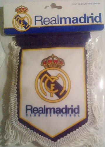Real Madrid Cf Badge Logo Football Soccer Pennant - Badge Madrid Real