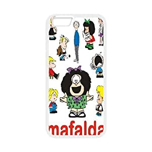 IPhone 6 Plus Cases Mafalda Cartoon Characters, Tyquin, [White]