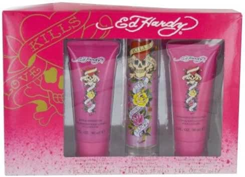 Ed Hardy 3 Piece Fragrance Gift Set