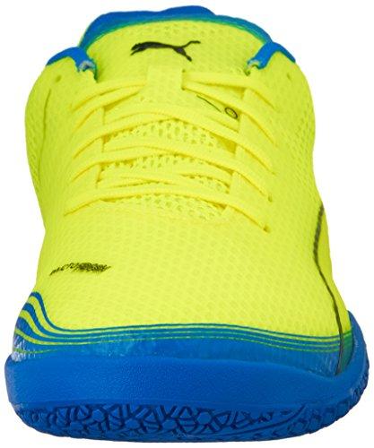 Puma Mens Invicto Fresh Sneaker Safety Giallo / Peacoat / Blu Elettrico Limonata