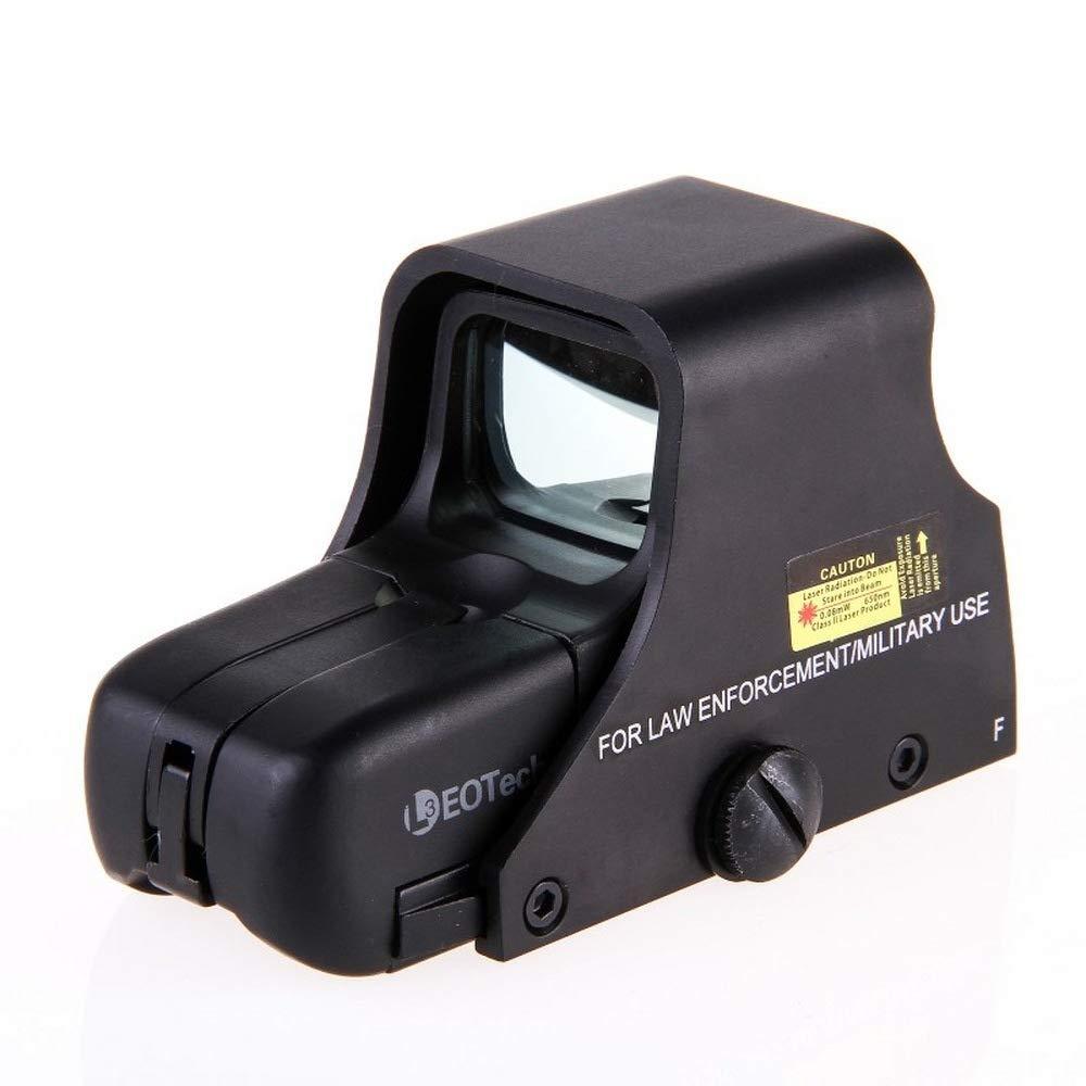 DGXIAKE Holographic Reflex Red Green Dot Sight Scope Binoculars, HD 1080p Telescope Red Green Dot Tactical Airsoft Riflescope - Ultralight Waterproof Shockproof (Aluminum Alloy Binoculars)